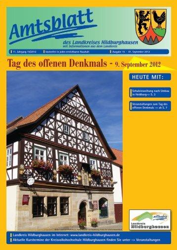 Amtsblatt 15/2012 - Landkreis Hildburghausen