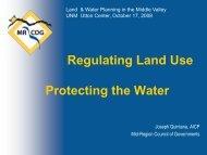 Regulating Land Use/Protecting the Water -- Joseph Quintana