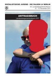 ANTRAGSBUCH - Falken Berlin