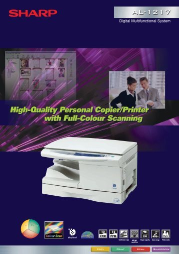 High-Quality Personal Copier/Printer with Full-Colour Scanning ...