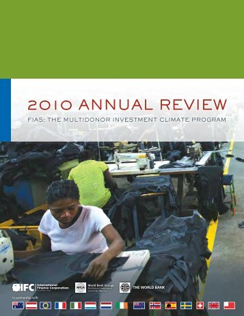 2010 ANNUAL REviEw - Investment Climate