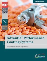 Advantia™ Performance Coating Systems - Anshul Life Sciences