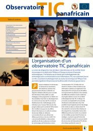 Observatoire panafricain - ACP Business Climate