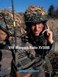R&S VHF Manpack Radio XV3088 - Helmut Singer Elektronik