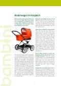 Kinderwagen im Vergleich - bambini - Seite 2