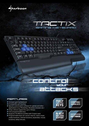 Tactix En - Sharkoon