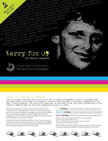 TFRI - <b>Terry Fox</b> Foundation - tfri-terry-fox-foundation