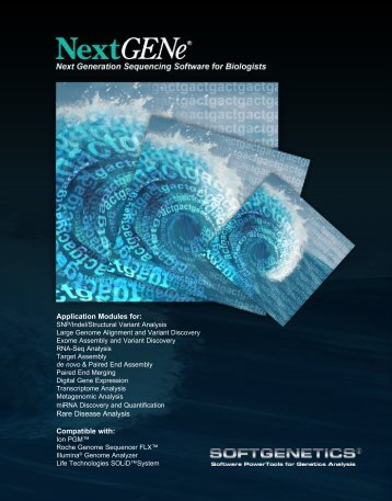 NextGENe brochure