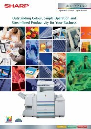 Real Colour Document Solution for Your Workplace - Sharp Global