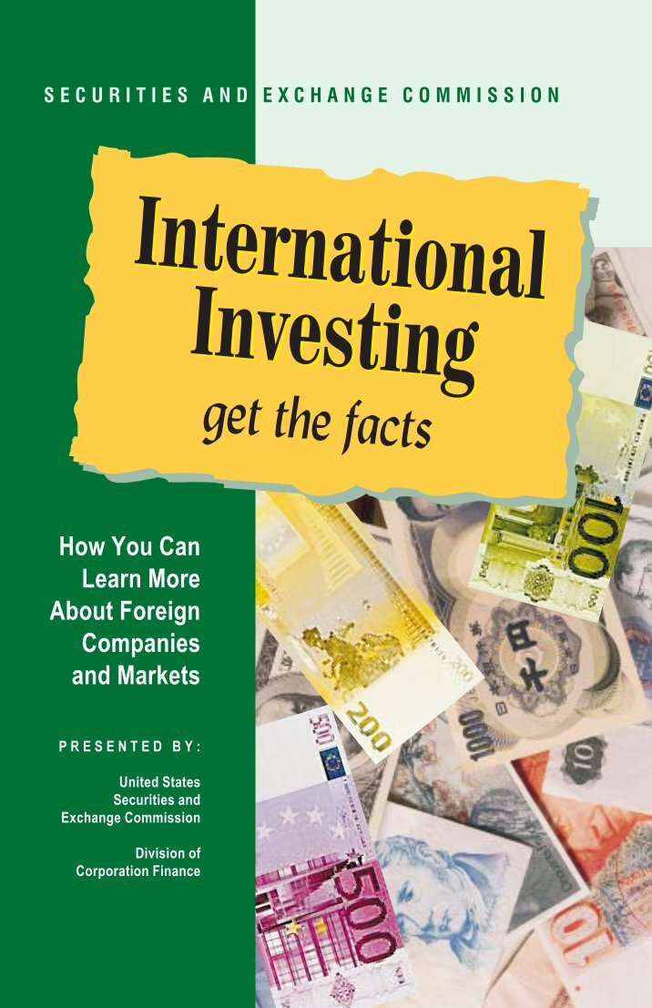 international investing essay Investing overseas begins with determining the risk of the country's investment climate.