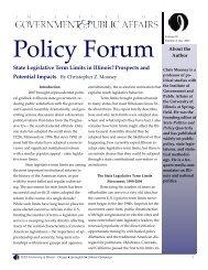 Read Policy Forum Vol. 20, No. 2, December 2007 - Institute of ...