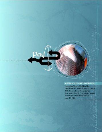 PoV Exhibition Catalog - shinyspinning