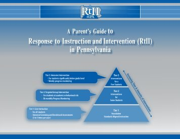 Response to Instruction and Intervention (RtII) - Central Cambria ...