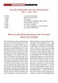 SERVITANISCHE NACHRICHTEN Nr. 1/2011, 37. Jahrgang - Page 4