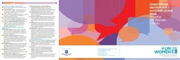 UN Women brochure_Serbian