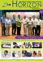 Phase 2 handover ceremony > p10 - Universiti Tunku Abdul Rahman