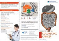 Download a soft copy of the Colorectal Cancer brochure in English