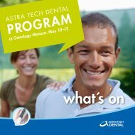 what´s on - Astra Tech