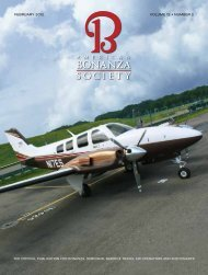 February 2012 • Volume 12 • Number 2 - American Bonanza Society