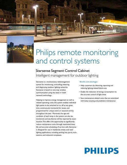 Starsense Segment Controller Data Sheet - Philips Lighting