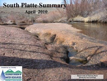 April - Colorado Division of Water Resources