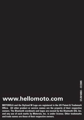 www.hellomoto.com