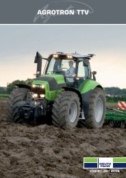 agrotron ttv - Deutz-Fahr Austria Landmaschinen Gesellschaft mbH