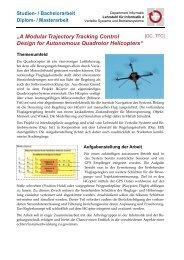 """A Modular Trajectory Tracking Control Design for ... - CS 4"