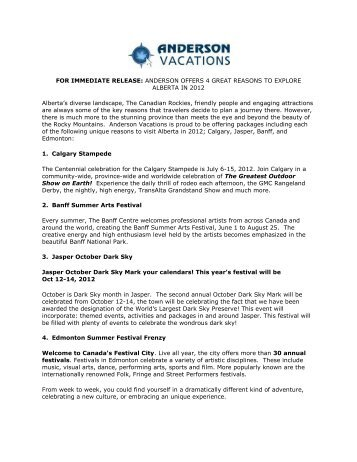 andersonoffers4great.. - Anderson Vacations