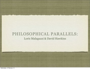 philosophical-parallels