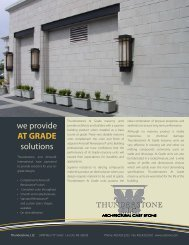 we provide AT GRADE solutions - Brick and Stone Products ...