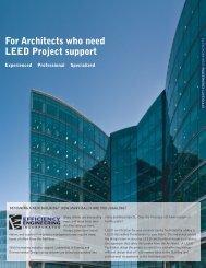 LEED facilitation - Efficiency Engineering Inc