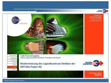 Fachvortrag - Gilgen Logistics AG