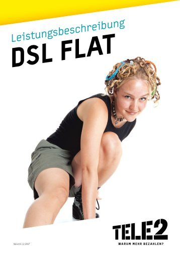 Tele2 DSL Leistungsbeschreibung Stand April 2008 (PDF)