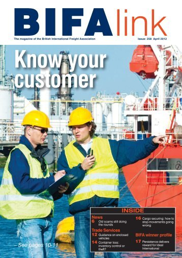 INSIDE – See pages 10-11 - British International Freight Association