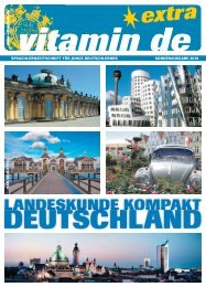 Leseprobe zum Herunterladen! - Deutsch lernen mit vitamin de
