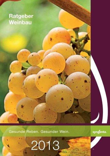 Ratgeber Weinbau - Syngenta