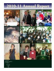 2010-11 Annual Report - Nassau Presbyterian Church