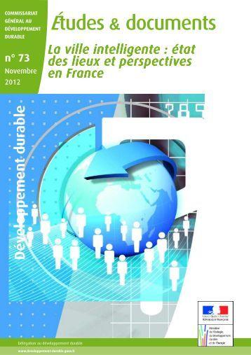 La ville intelligente : état des lieux et perspectives en France