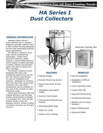 Modu-Kleen Bin Vent Filter/Dust Collector Series