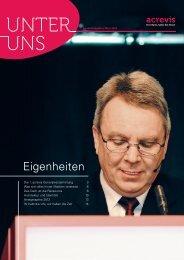 Ausgabe März 2012 - Acrevis