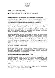 Lili Radu Designertaschen - Petra Tischler Public Relations