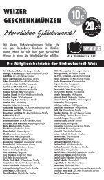 20Einkaufsstadt - Tourismus Energieregion Weiz-St.Ruprecht