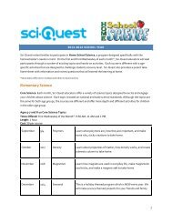 Elementary Science - Sci-Quest