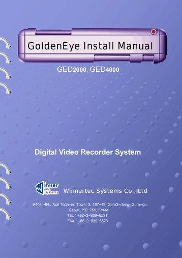 GoldenEye Install Manual