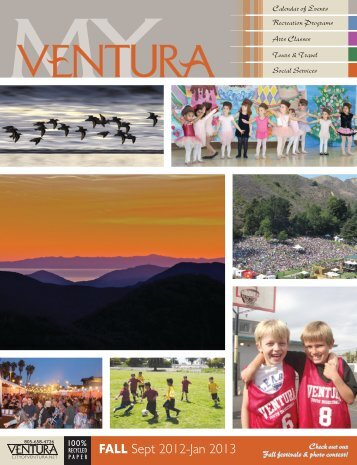 FALL Sept 2012-Jan 2013 - City Of Ventura