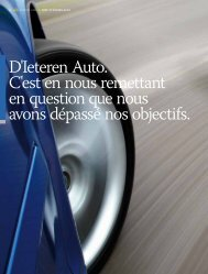 Distribution automobile – D'Ieteren Auto