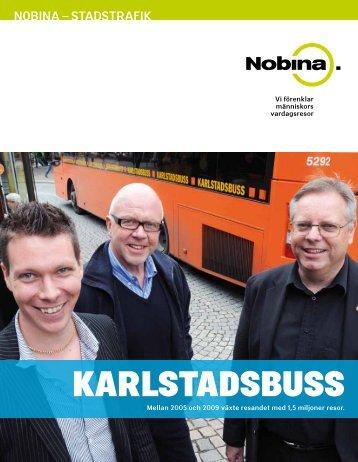 Stadsbussen i Karlstad - Nobina