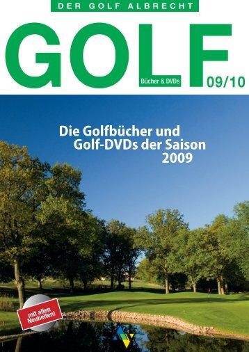 Die Golfbücher Und Golf-DVDs Der Saison 2009 - 1Golf.eu
