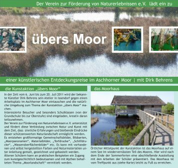 übers Moor - Verein zur Förderung von Naturerlebnissen